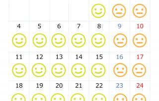 混雑予想月間カレンダー5月